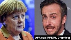 Türkiyə məzhəkəçi Jan Boehmermann-ın mühakiməsini Angela Merkeldən tələb edib