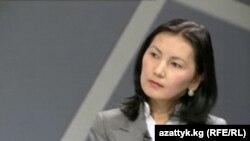 Kyrgyz Prosecutor-General Aida Salyanova