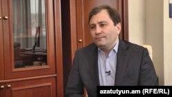 Финансовый директор «Ардшинбанк» Давид Саргсян, 24 января 2020 г.