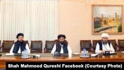 هیئت گروه طالبان در اسلام آباد