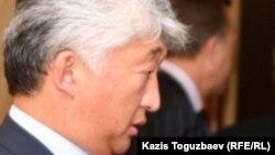 «Қазақмыс» директорлары кеңесінің төрағасы болған Владимир Ким. Алматы, 12 қыркүейк 2010 жыл.