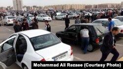 Iran -- Vehicle Friday Market in Mashhad, Iran. Undated.