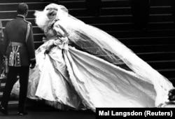 1981 год. Вясельле прынца Чарлза і Дыяны Спэнсэр.