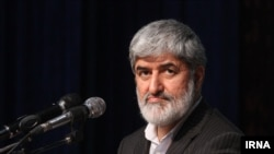 FILE - Iranian MP, Ali Motahari, who is a social conservative but in recent years has turned into an outspoken critic of hardliners.