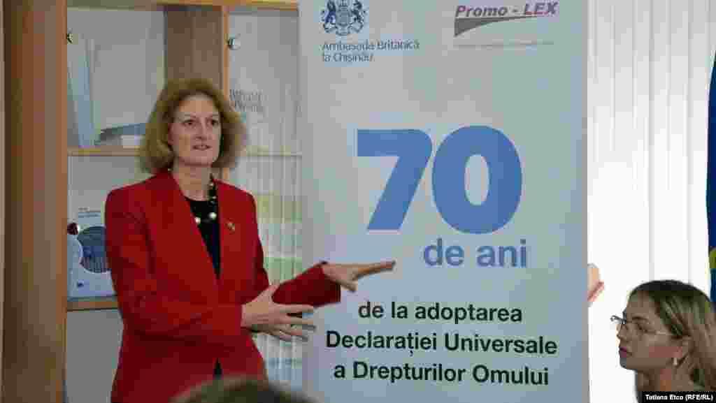 Ambasadoarea Marii Britanie în R. Moldova, Lucy Joyce