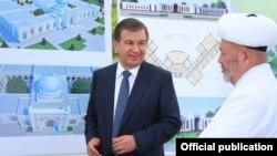 Президент Мирзияев пен Өзбекстан мүфтиі Усмонхон Алимов
