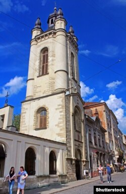 Вежа Вірменського собору у Львові, збудована у 1570-1571 роках