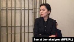 Аида Салянова в суде, 7 февраля 2018 г.