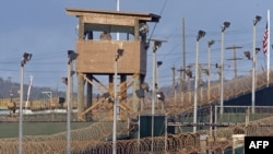 Camp Delta at the U.S. detention center in Guantanamo Bay
