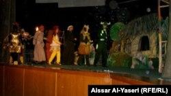 النجف مسرحية دمى (من الارشيف)