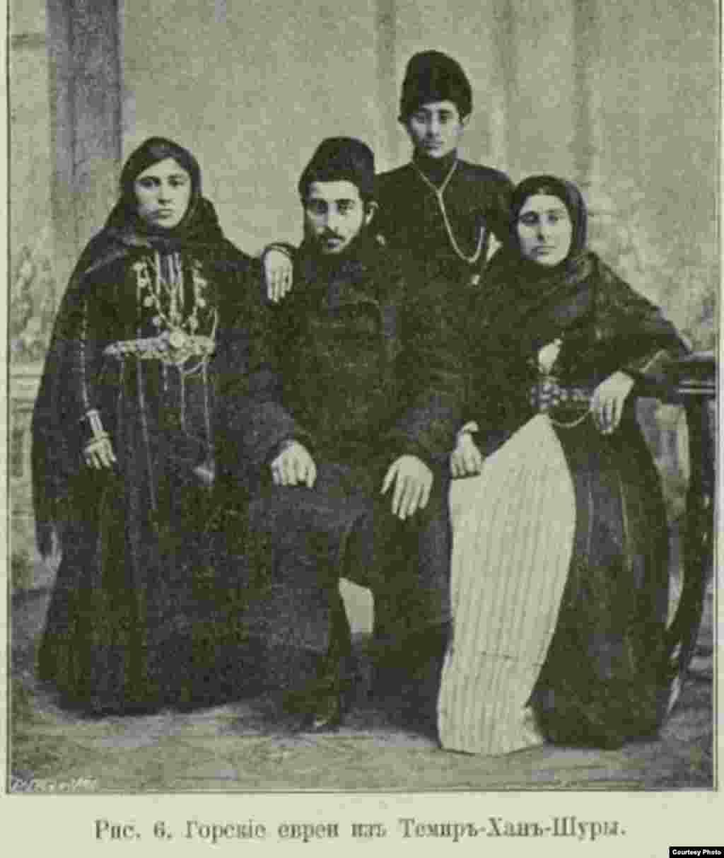 В Темир-Хан-Шуре и Дербенте находились самые крупные общины горских евреев