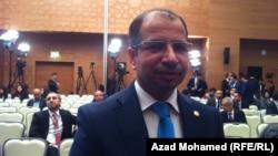 Iraq's parliament speaker Salim al-Jaburi (file photo)