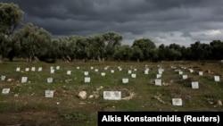 Groblje izbjeglica u Grčkoj, ilustrativna fotografija