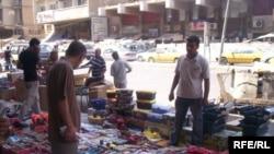Iraq / Baghdad Market hand tools in Sinak 28 aug 2009