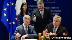 Ֆրանսիա - Եվրամիության և Ուկրաինայի միջև վիզային ռեժիմի ազատականացման համաձայնագրի ստորագրումը, Ստրասբուրգ, 17-ը մայիսի, 2017թ․