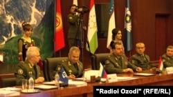 Заседание Совета министров обороны стран Содружества. Душанбе, 12 октября 2017 года.