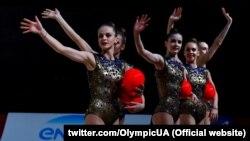 Українські художні гімнастки (фото прес-служби НОК)