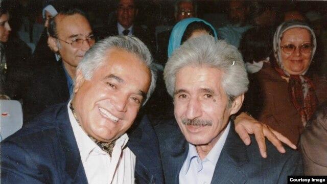 انوشیروان روحانی (چپ) و محمدعلی شیرازی