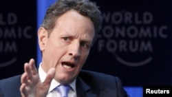U.S. Treasury Secretary Timothy Geithner (file photo)