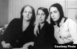 Татьяна Горичева, Татьяна Беляева, Наталия Малахова - активистки женского движения.