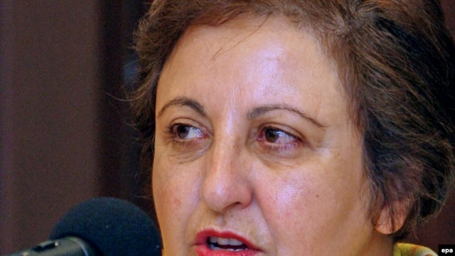 "Iranian lawyer Shirin Ebadi, winner of the Nobel Peace Prize, calls the ongoing trials in Iran ""completely illegal."""