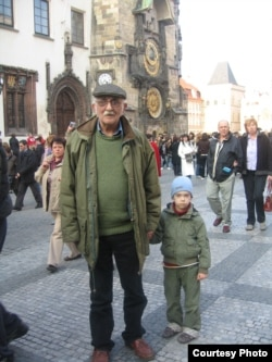 Александр Пятигорский в Праге, 2007 г. Фото Людмилы Пятигорской