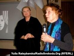 На вечорі пам'яті у Дніпропетровську, Нінель Заверталюк, 8 листопада 2011 року