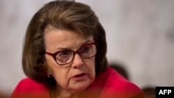 Senator Dianne Feinstein (D-Calif). FILE PHOTO