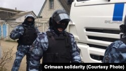 Затримали Руслана Бекірова в селі Орлиному Балаклавського району