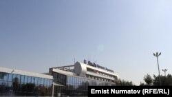 Аэропорт города Оша.