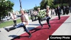 Foto nga vizita e kryeministrit Hashim Thaçi në Bullgari, 18 qershor, 2012
