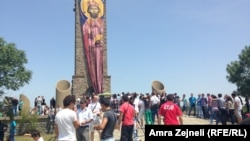 архивска снимка, од прославата на Видовдан на Газиместан, 28.06.2013.