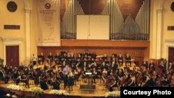Гала-концерт открытия международного конкурса имени Арама Хачатуряна в Ереване, 6 июня 2010 г․