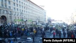 Киевдеги Евромайдан. 24-январь 2014