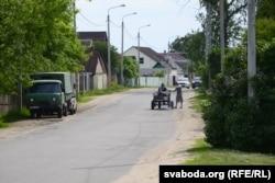 На вуліцы пасёлка Грабянёва