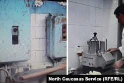 Комбинат питания во Владикавказе до и после назначения на должность руководителя Георгия Гаппоева