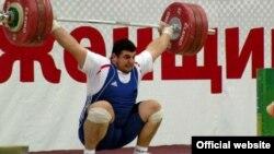 Тяжелоатлет Магомед Абуев.