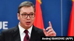 Presidenti serb, Aleksandar Vuçiq.