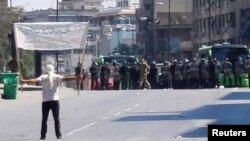 Протести во Хомс.