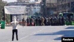 Протести во близина на Хомс.