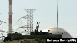 Washington said it is extending waivers on countries assisting with Iran's Bushehr nuclear power plant.