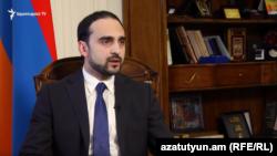 Kомендант чрезвычайного положения, вице-премьер Армении Тигран Авинян