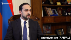 Փոխվարչապետ, պարետ Տիգրան Ավինյանը հարցազրույց է տալիս «Ազատությանը», արխիվ