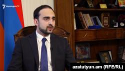 Комендант, вице-премьер Армении Тигран Авинян (архив)