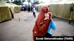 Орусияда киши колдуу болгон мигранттар көбөйүп жатканы айтылууда. Москва. Мигранттар лагери. 5-август, 2013-жыл