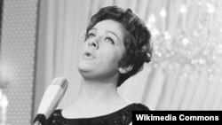 Zorana Lola Novaković na takmičenju za pesmu Evrovizije 1962.