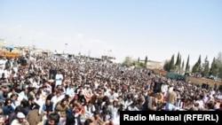 قلعه سيف الله کې د پښتون ژغورنې غورځنګ ولسي غونډه
