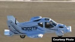 ترافوجیا ترنزیشن، نخستین خودروی پرنده جهان