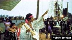 Jimi Hendrix në Woodstock