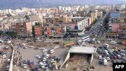 Pamje në Tiranë